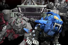 机械兽主题动作手游《ZOIDS Material Hunters》事前登记正式开启